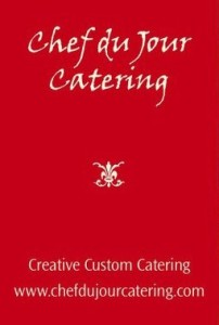 chef du jour catering, portland catering, business event catering