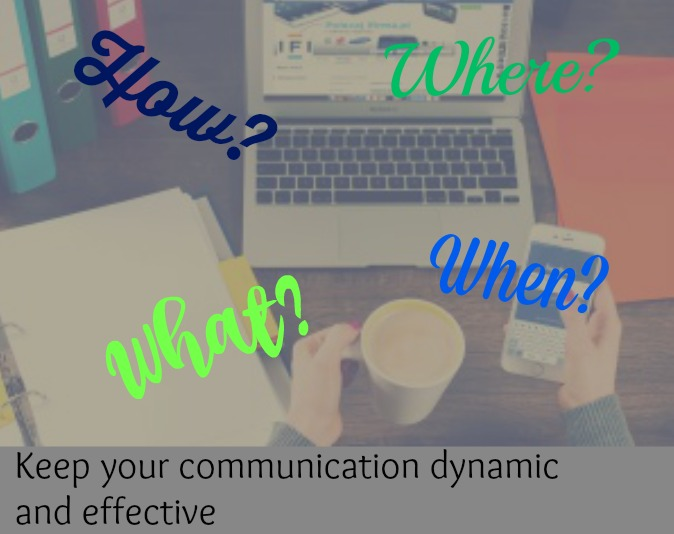 The What, When, Where and How of Successful Business Communications