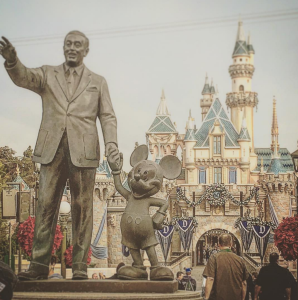 Walt Disney sure created a magical empire. I'm fascinated by all of the imagination, hundreds and thousands of jobs supported, the masses of people who are magnetically attracted to this place, the amazing attention to detail, and how it all started with a mouse. Happy 60th Birthday Disneyland!