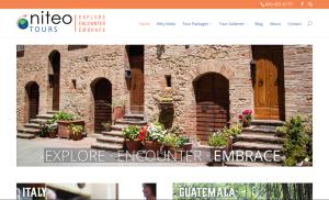 Niteo Tours Website
