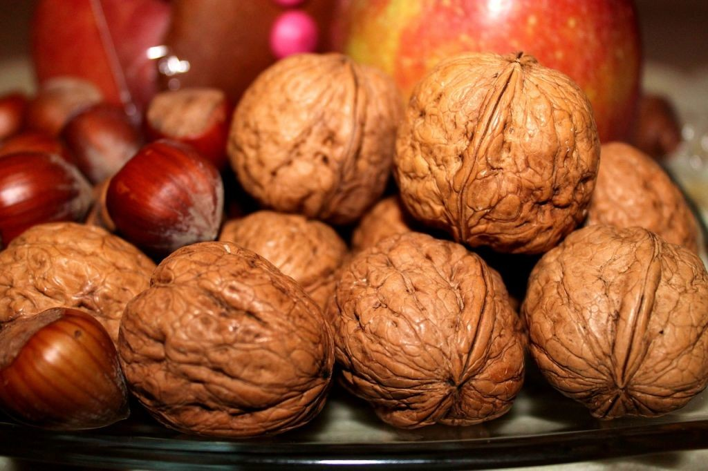 Holiday walnuts